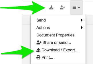 Save or export from DocHub to Google Drive – DocHub